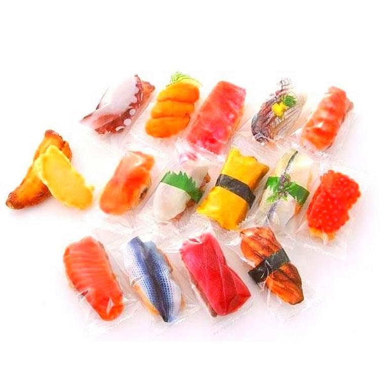 【NEWEST】壽司型醬油米果綜合包 200g 約50-55個 日本進口仙貝 3.18-4 / 7店休 暫停出貨 3