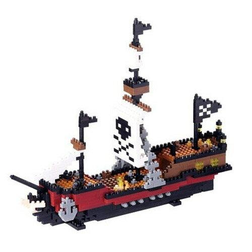 【Nanoblock積木】海盜船 NBM-011