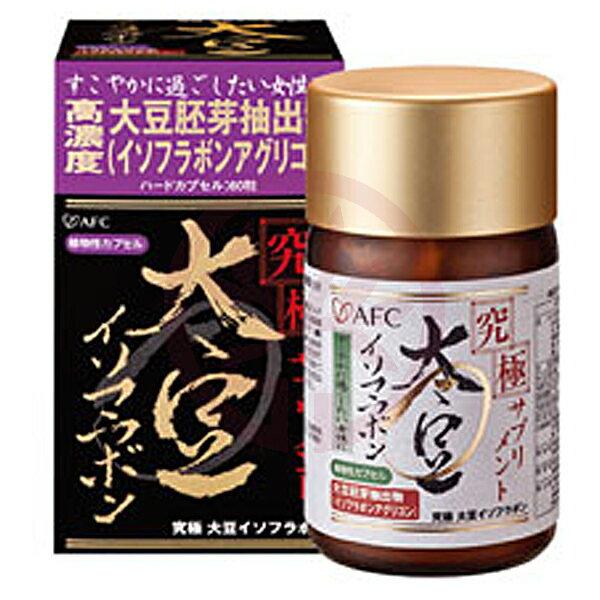 AFC宇勝淺山究極女調膠囊食品(大豆萃取)(60粒罐)