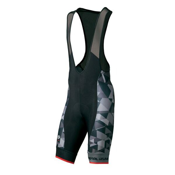【7號公園自行車】PEARLIZUMIT273-3DNP-3男性競賽級吊帶短車褲(漸層灰)