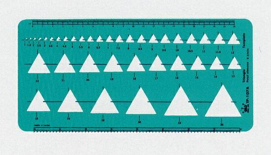 徠福 角定規 39孔 TP~107A   片