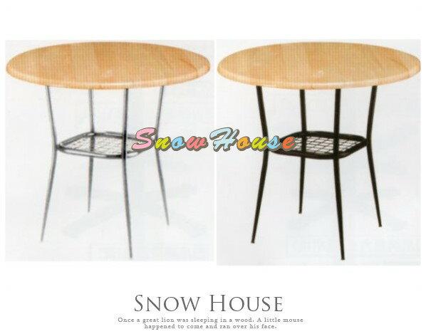 ╭☆雪之屋居家生活館☆╯AA774-0115F120實木圓桌(實木噴漆)置物桌咖啡桌洽談桌餐桌二款