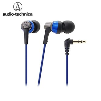 又败家@日本铁三角ATH-CKR3入耳式耳机(蓝色)耳塞式耳机原厂Audio-Technica耳机手机耳道式耳机电脑耳机