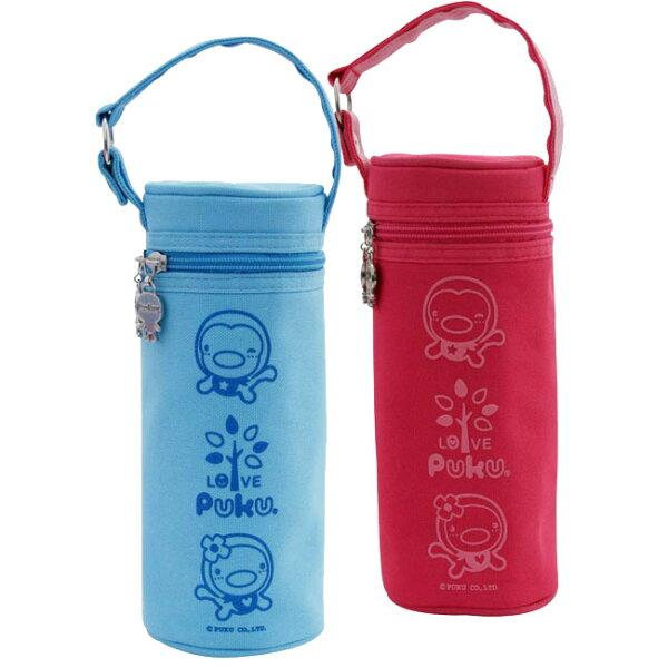 【奇買親子購物網】PUKU上開式保溫袋(藍粉)