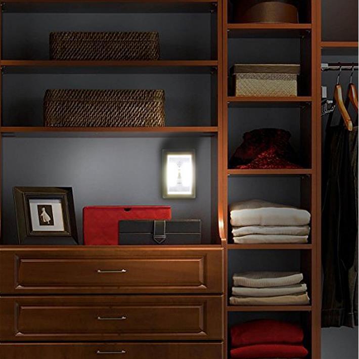 COB磁吸式LED開關小夜燈/緊急照明燈 可當手電筒 衣櫥壁櫥照明