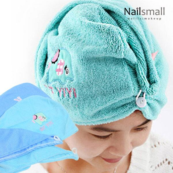 超細纖維乾髮帽(隨機出色)