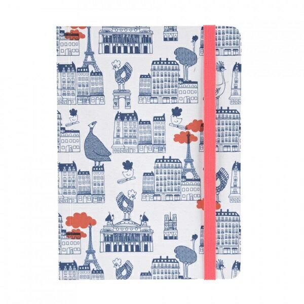 《法國 La Cocotte Paris》巴黎小散步隨身筆記本All over Paris 1