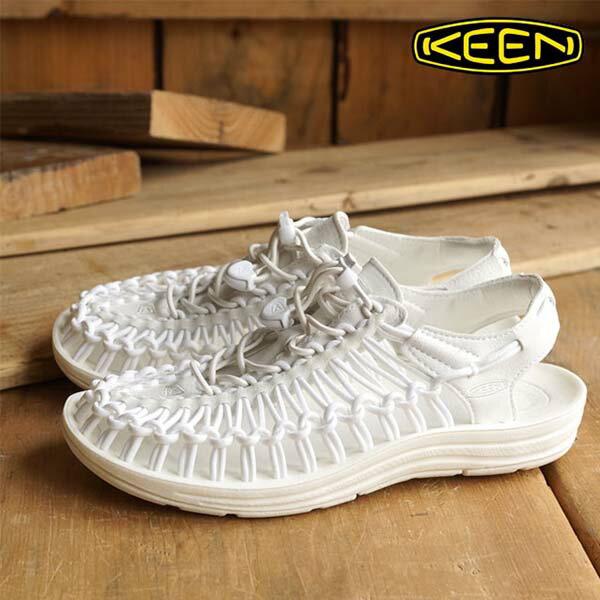 《台南悠活運動家》KEEN1014100UNEEK女織帶涼鞋白