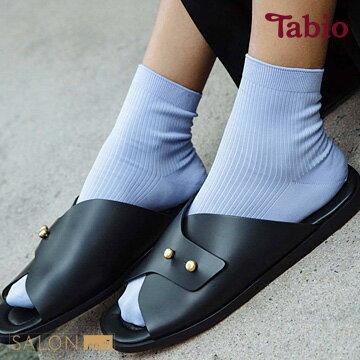【靴下屋Tabio】羅紋除臭百搭短襪日本職人手做
