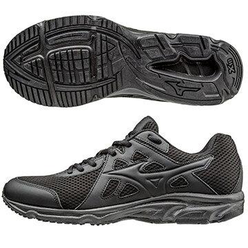 K1GA170209(黑X黑)一般型鞋款 MAXIMIZER 19 男慢跑鞋 S【美津濃MIZUNO】