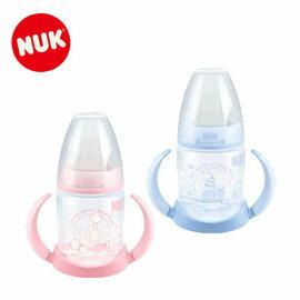 『121婦嬰用品館』NUK Rose & Blue 150ml 寬口徑兩用學飲杯(附矽膠軟嘴) - 粉 0