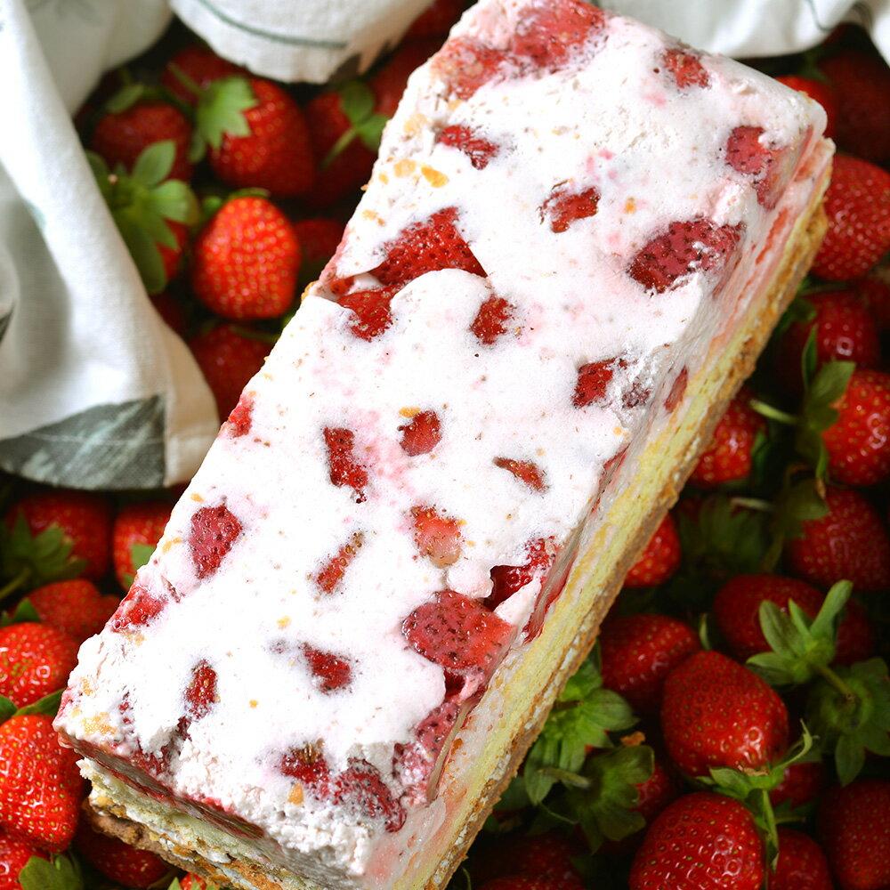 ★最美好的大湖草莓★爆~爆量草莓拿破崙★任選2入組X大湖直送草莓就是多到浮誇!3倍認真草莓✨新鮮草莓慕斯【拿破崙先生】 2