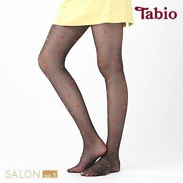靴下屋Tabio花朵透膚少女20D絲襪