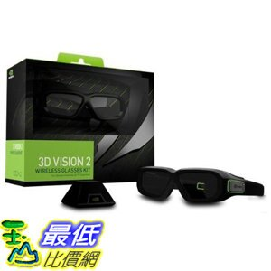 [107美國直購] Nvidia 942-11431-0007-001 3D Vision2; Wireless Glasses Kit