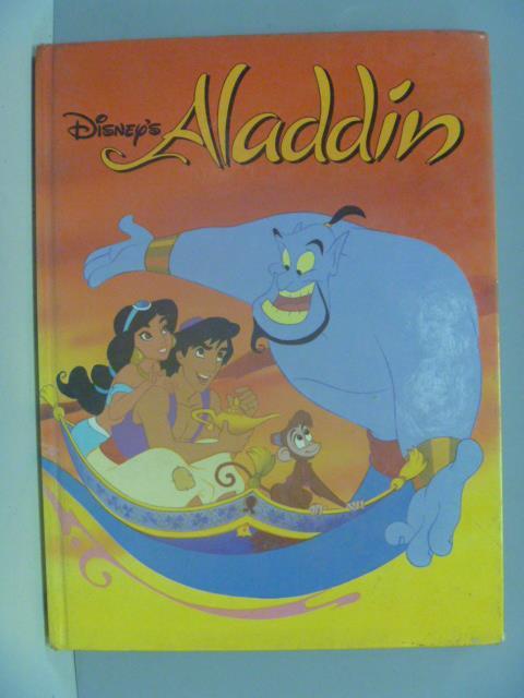 ~書寶 書T8/少年童書_ZEM~Aladdin Disney Classic_Walt