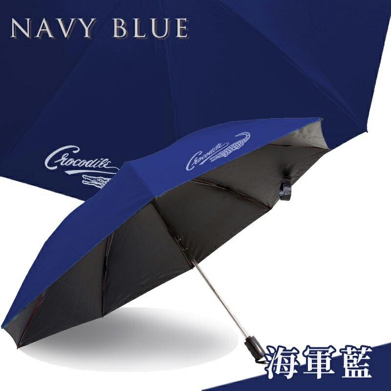 反向自動折傘-海軍藍 久大傘業 反向傘 抗UV 超潑水 (10色可選)