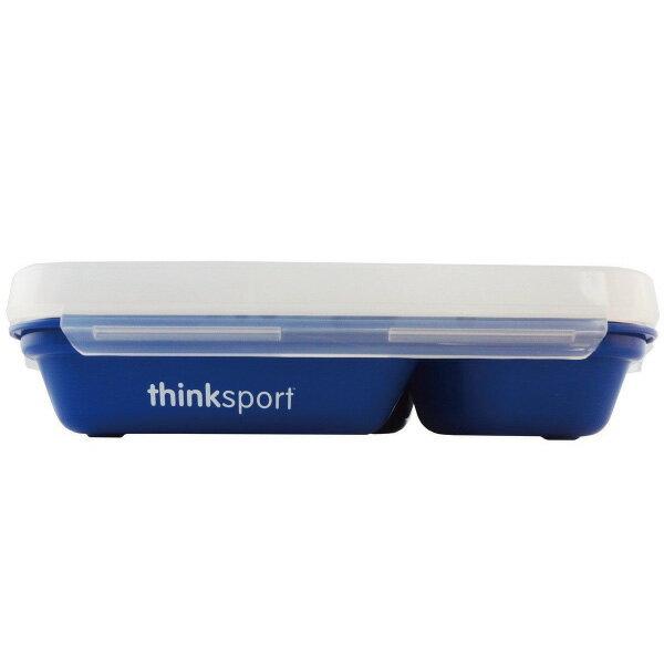 ★衛立兒生活館★ThinkBaby 環保不鏽鋼兒童餐盤組(附湯叉)-野莓藍
