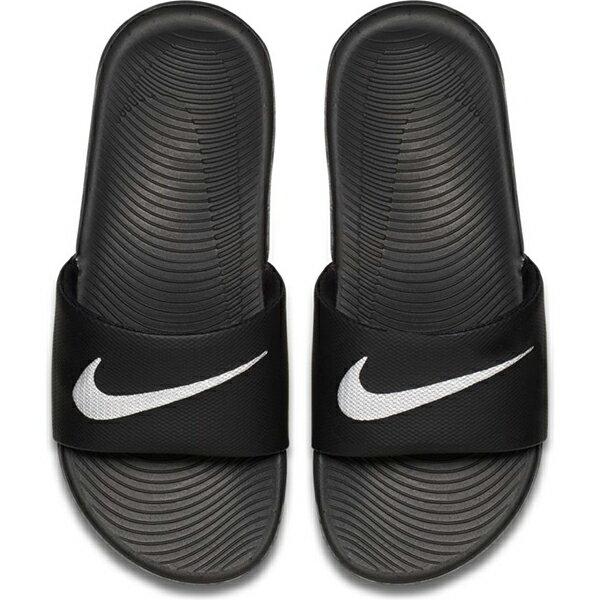 【NIKE】NIKE KAWA SLIDE (GS/PS) 童鞋 拖鞋 黑 中童 -819352001