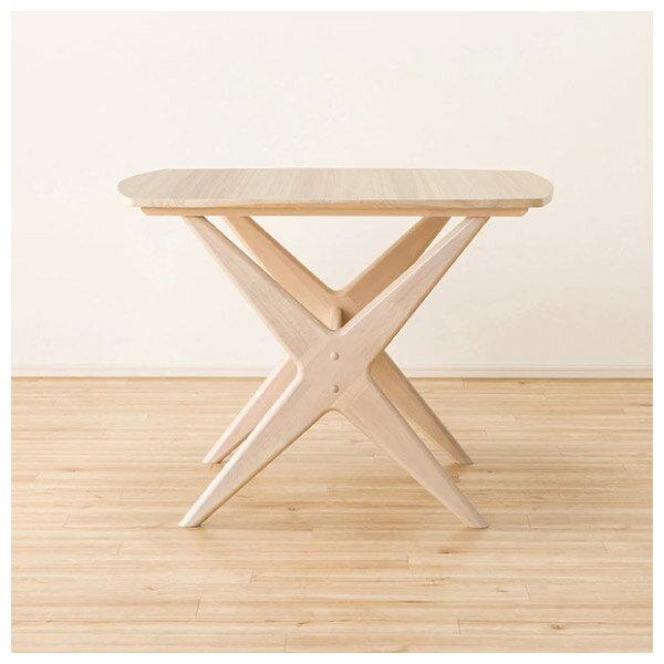 ◎(OUTLET)實木餐桌椅三件組 RELAX WIDE90 WW 橡膠木 福利品 NITORI宜得利家居 2