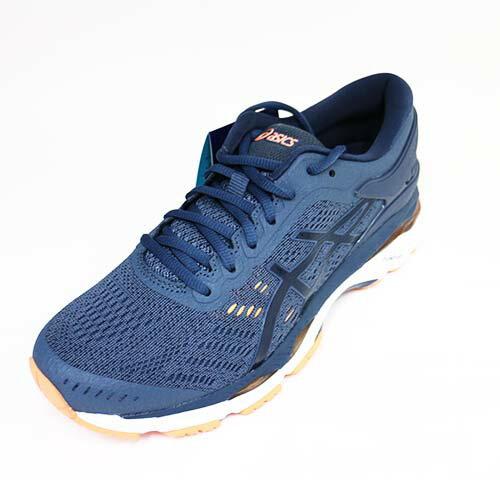 [陽光樂活]ASICS亞瑟士女慢跑鞋GEL-KAYANO24寬楦亞瑟膠緩衝支撐T7A5N-5649藍灰
