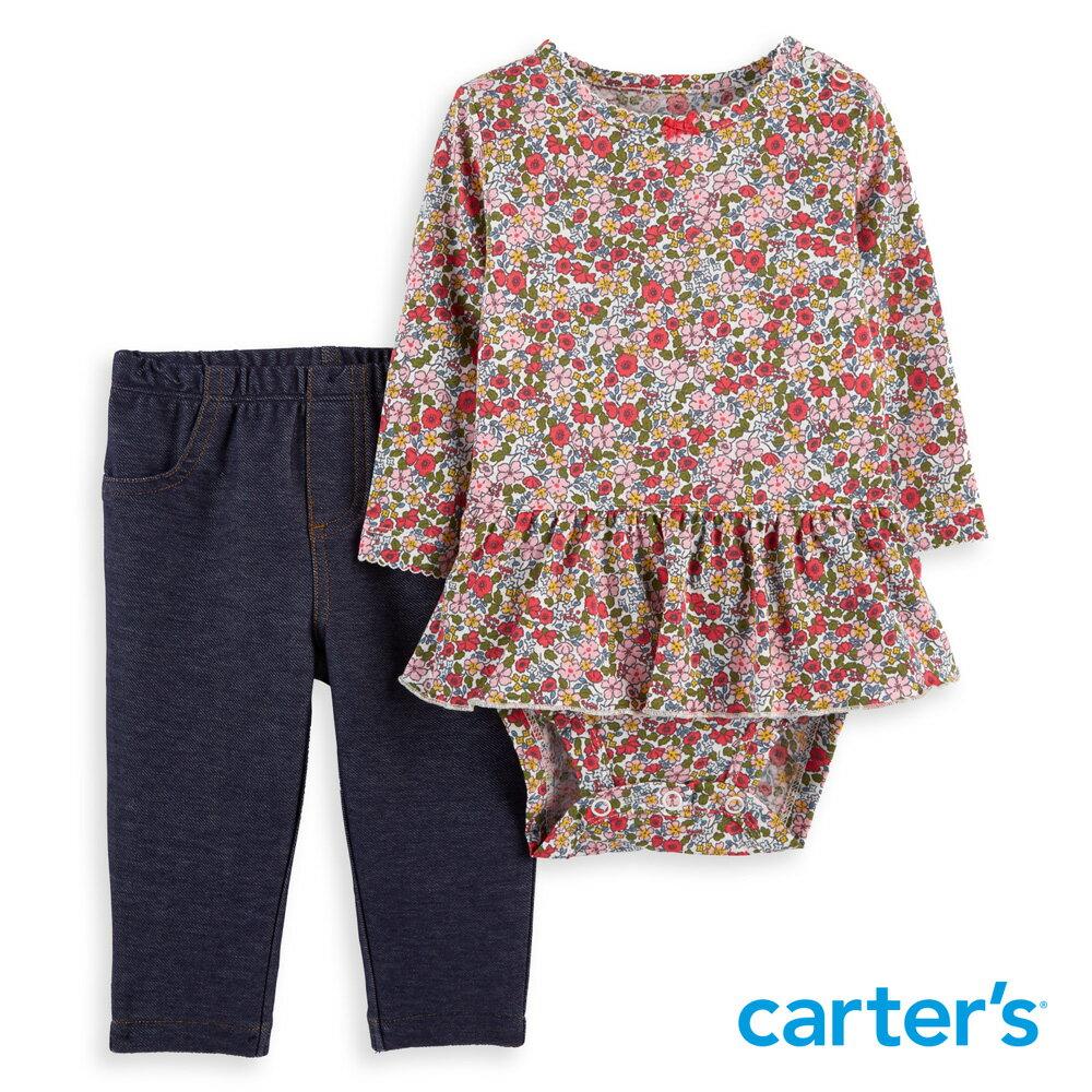 Carter's 荷葉碎花二件組套裝 - 限時優惠好康折扣