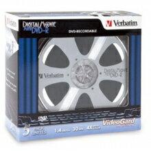 Verbatim 8cm DVD-R 4X 單片盒裝