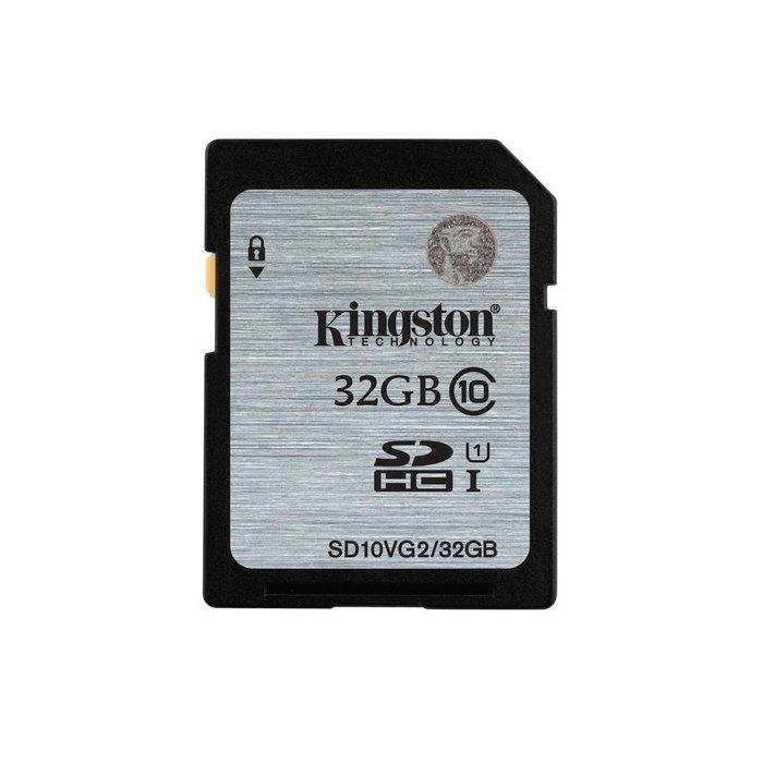 【新風尚潮流】金士頓記憶卡 32G 32GB SDHC C10 UHS-I U1 SD10VG2/32GB