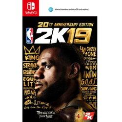 [現金價] 預購2018/9/7特典依官方公佈 NS 美國職業籃球 NBA 2K19 20 週年紀念版 中文版