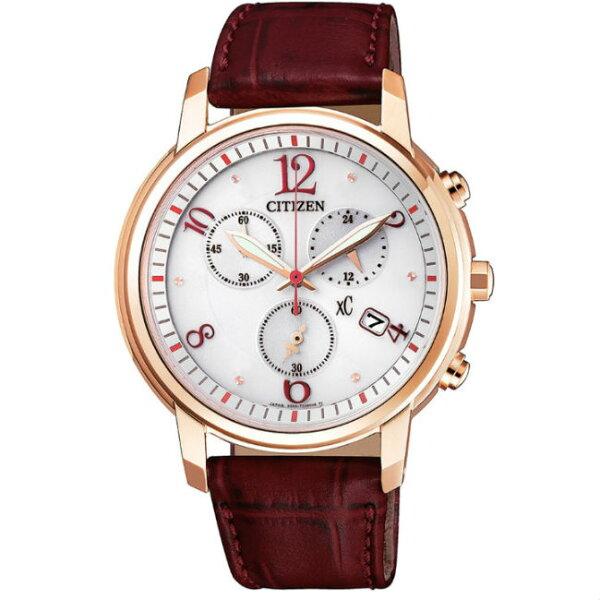 大高雄鐘錶城:CITIZEN星辰錶FB1432-12A亞洲限定版時尚光動能腕錶白面38mm