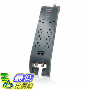 <br/><br/>  [106美國直購] 飛利浦 Philips SPP5085D/17 Home Theater Surge Protector<br/><br/>