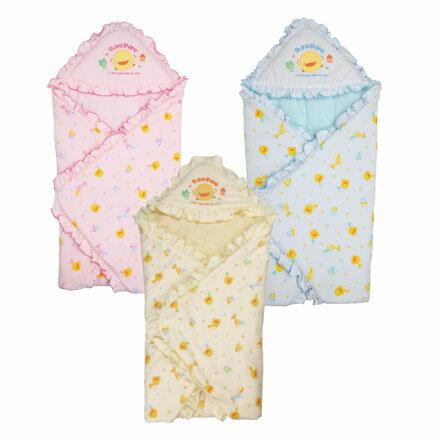 Piyo 黃色小鴨 冬季包巾【悅兒園婦幼生活館】 0