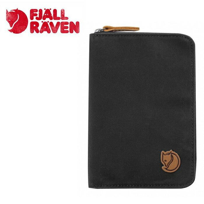 【Fjallraven小狐狸 瑞典】護照包 護照夾 零錢包 灰色 (24220-030)