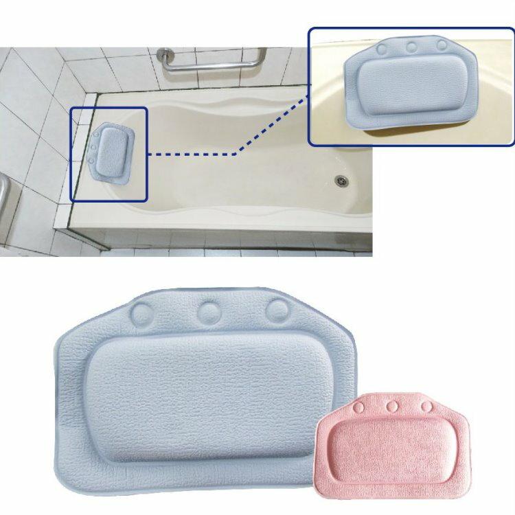 浴缸用頭枕 - 泡澡時頭部舒適有靠 銀髮族洗澡也很適用 [ZHCN1777]