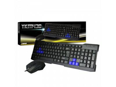 YAMA YKM430 USB鍵盤滑鼠組 鍵鼠組 鍵盤組 電腦鍵盤【迪特軍】