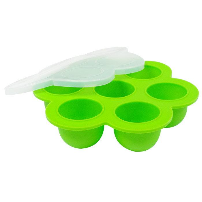 【EG Home 宜居家】七格矽膠製冰分裝盒 3