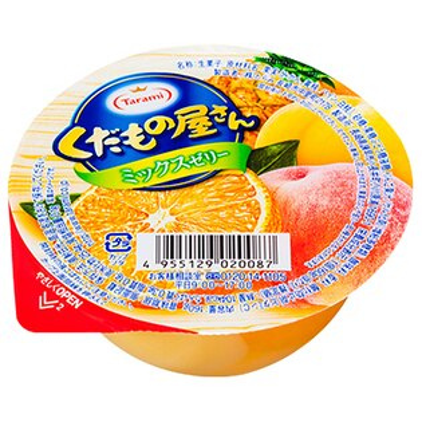 【TARAMI達樂美】水果屋果凍-綜合水果口味(160g)