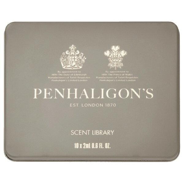 【香舍】現貨 Penhaligon's 潘海利根 Scent Library 香氛圖書管系列 針管禮盒 2ML*10