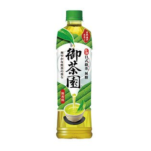 御茶園特撰日式綠茶PET550ml*24【愛買】