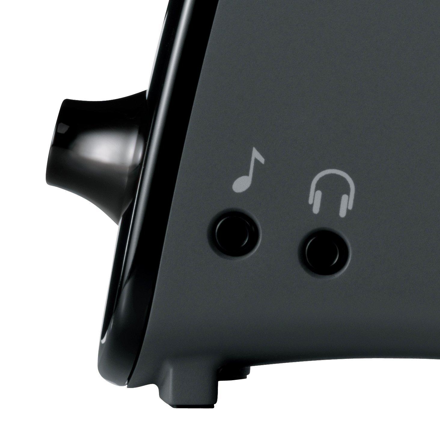 Logitech Z323 3 Piece 2.1 Channel Multimedia Computer Speaker System - Black 4