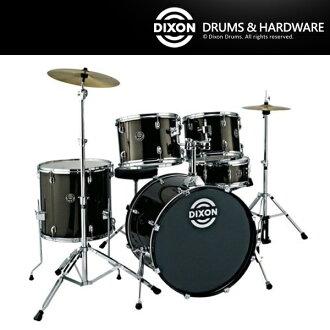 【非凡樂器】DIXON台製爵士鼓組DX系列 台製製入門款插銷式(含Solar套鈸,鈸架,鼓椅,鼓架,鼓棒)