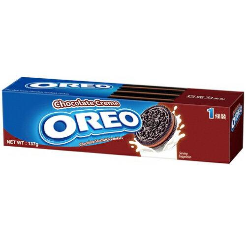 OREO 奧利奧 巧克力夾心餅乾 137g