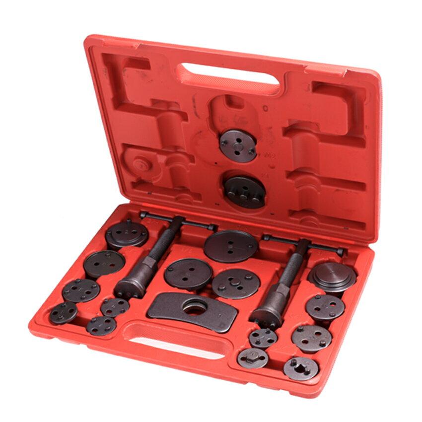 Disc Brake Caliper Piston Compressor Windback Wind Back Pad Tool 21pc + Case 0
