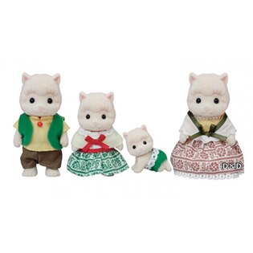 【EPOCH】森林家族-羊駝家庭組