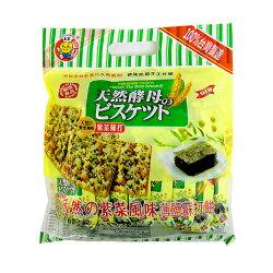 日日旺 天然酵母紫菜蘇打餅 320g
