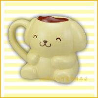 布丁狗周邊商品推薦到asdfkitty可愛家☆布丁狗瞇瞇眼陶瓷馬克杯-日本正版商品