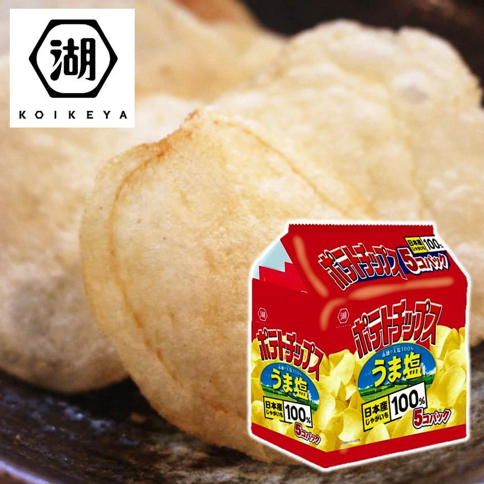 【KOIKEYA湖池屋】經典鹽味洋芋片 薯片 28g 單包/5包入 ?????????? 日本零食