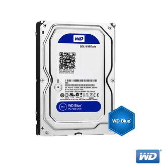 【點數最高 10 倍送】WD 藍標 1TB WD10EZEX 3.5吋 SATA3 內接硬碟