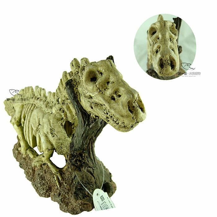 ^~第一佳 水族寵物^~ 伊士達ISTA 造景飾品 恐龍化石 ^~E~D1~WP034^~