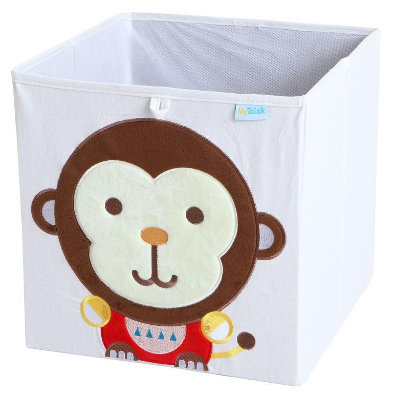 收納櫃 收納  收納箱 兒童收納 MyTolek 童樂可積木櫃&藏寶盒六件組(北歐風~木紋) 6