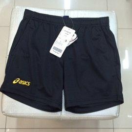 (陽光樂活)【asics亞瑟士】K11422-90女排球短褲 (黑)吸汗速乾